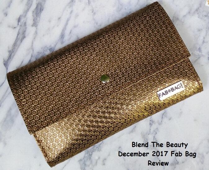 December 2017 Fab Bag