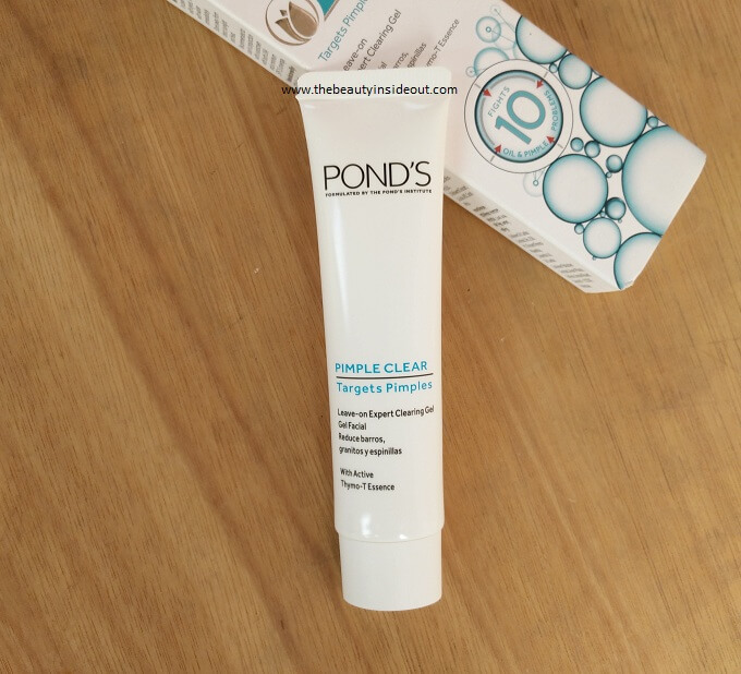 Ponds Leave On Expert Clearing Gel