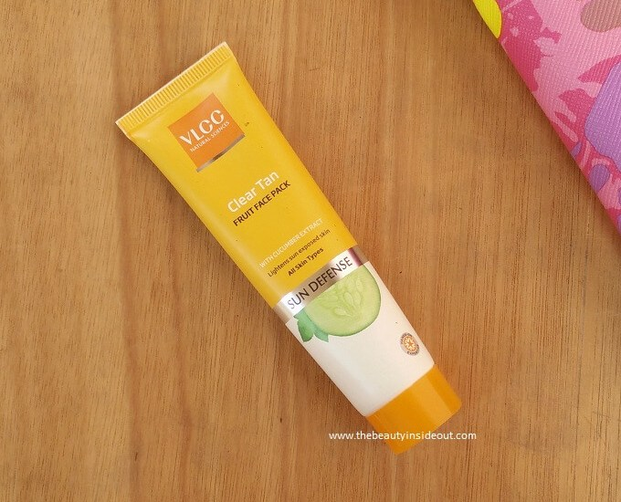 VLCC Clear Tan Fruit Face Pack