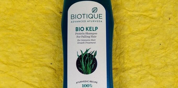 Biotique Bio Kelp Protein Shampoo for Hair Growth