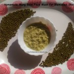 Mung Bean Face Mask