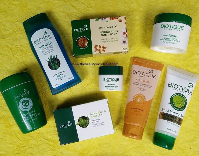 BIotique Products