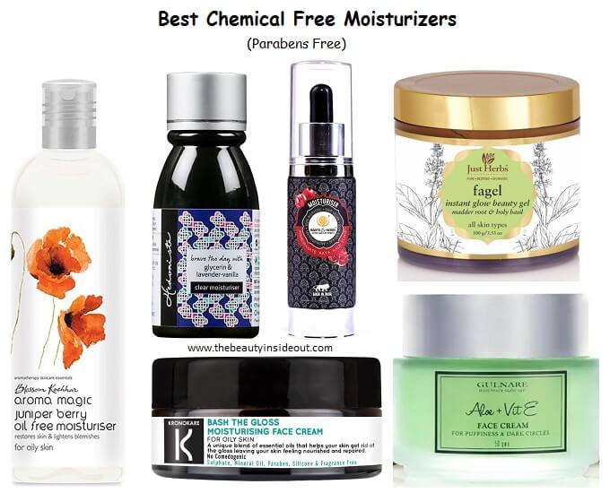 best chemical free face moisturizer