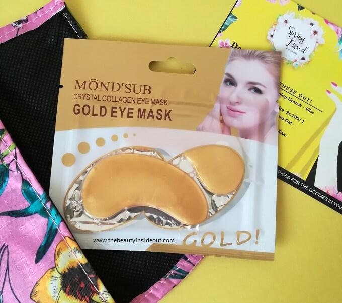 Mond'Sub Crystal Collagen Eye Mask