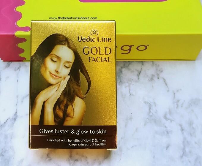 Vedic Line Gold Facial Kit