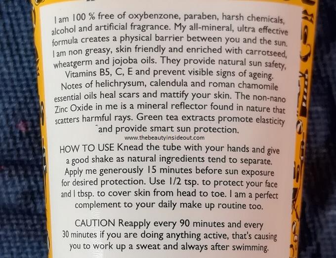 Aroma Magic Sunblock Lotion Product Description & Claims