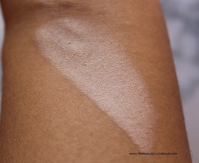 Blue Heaven Xpression Makeup Concealer Stick 03 Natural Swatch