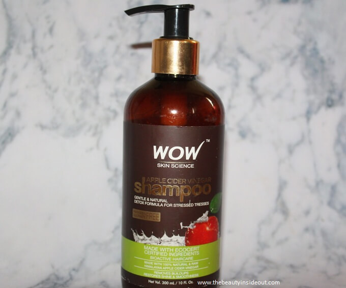 Wow Apple Cidar Vinegar Shampoo