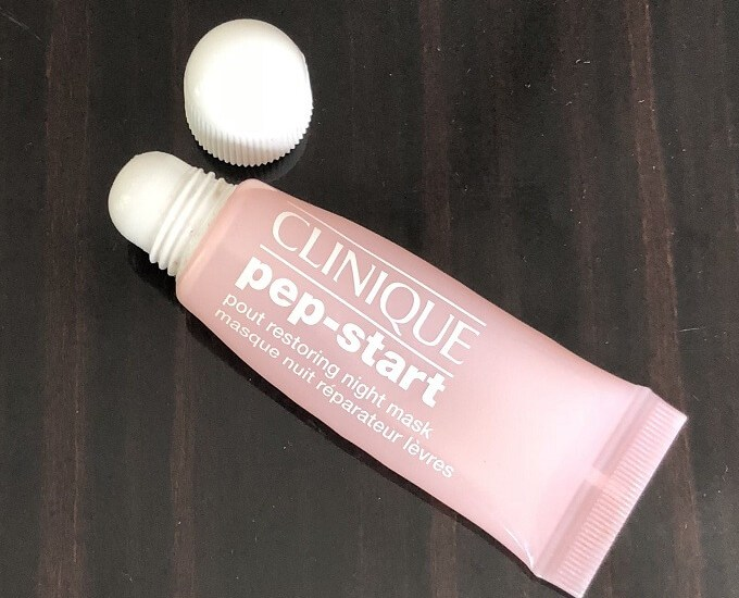 Clinique Pep Start Pout Restoring Night Mask Review