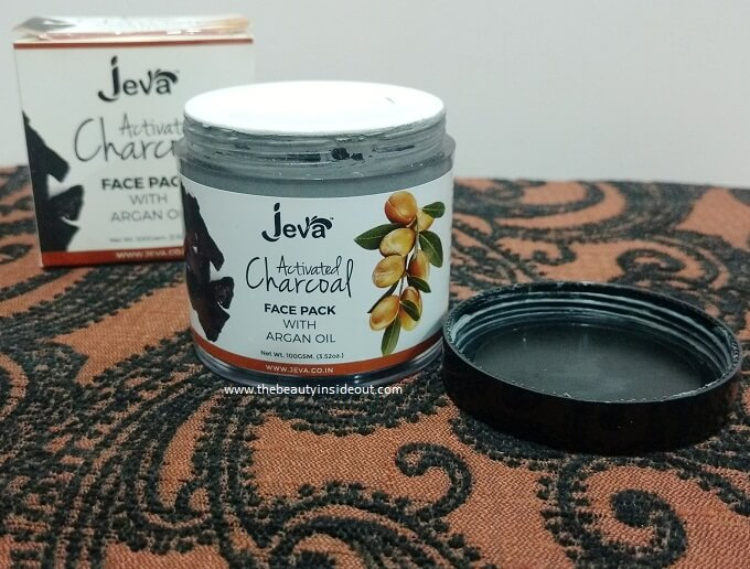 eva Activated Charcoal Face Pack Packaging