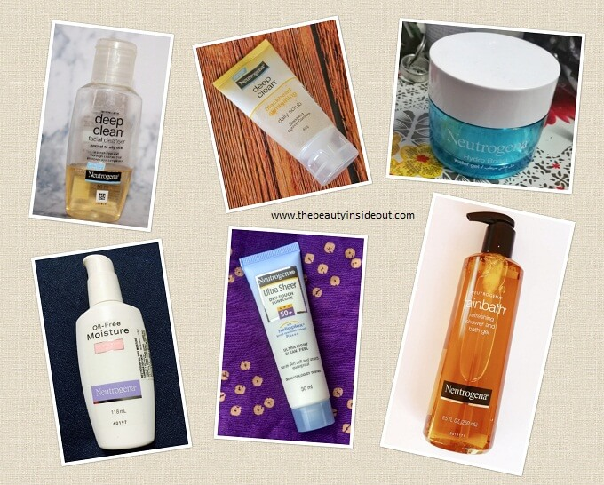 Neutrogena Products Review
