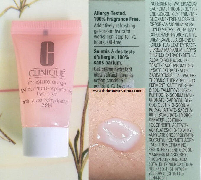 Clinique Moisture Surge 72 Hour Auto Replenishing Hydrator Review