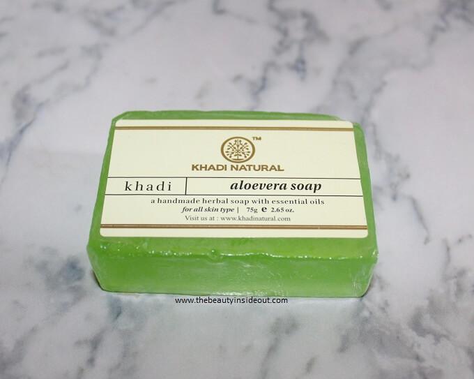 Khadi Natural Aloevera Soap
