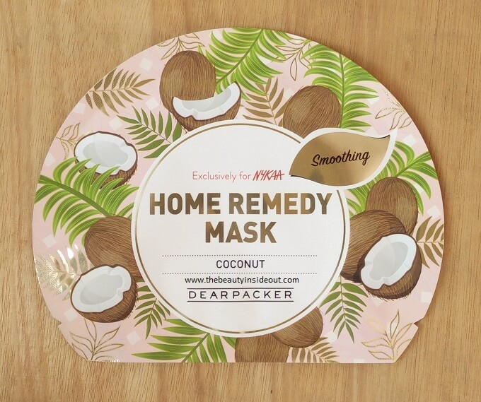 Dear Packer Home Remedy Sheet Mask - Coconut