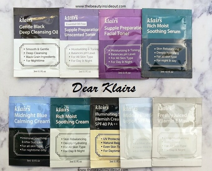Klairs Products