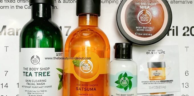 The Body Shop Products Review