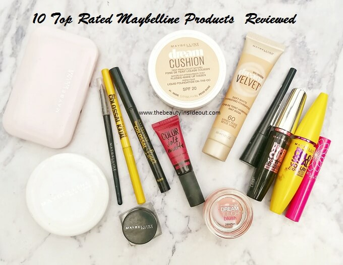 Maybelline Products Review