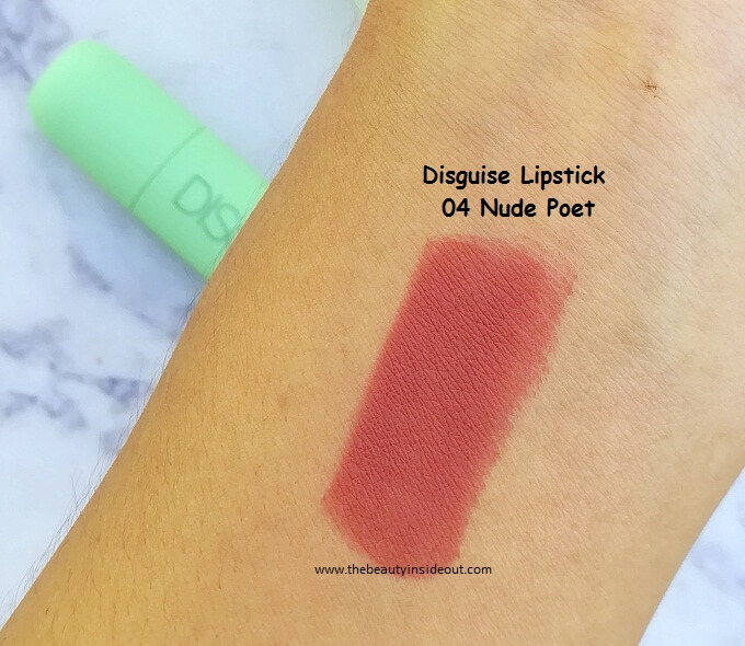 Disguise Cosmetics Lipstick Swatches