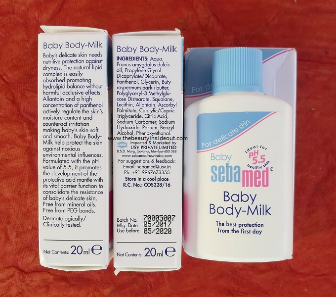 Sebamed Baby Body Milk