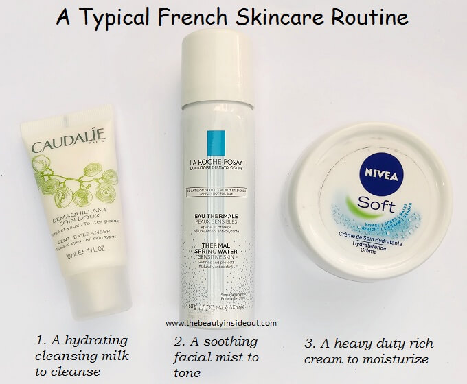 A Typical French Skincare Routine