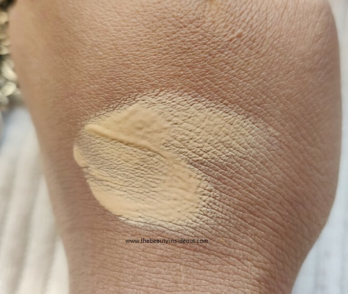 Wet n Wild Photo Focus Foundation Swatch