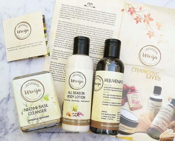 Urvija Products Review