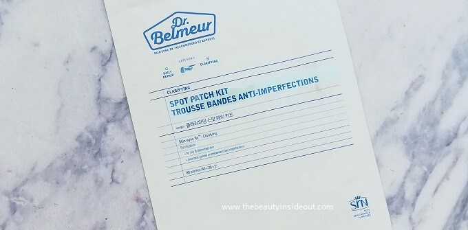 The Face Shop Dr.Belmeur Clarifying Spot Patch Kit