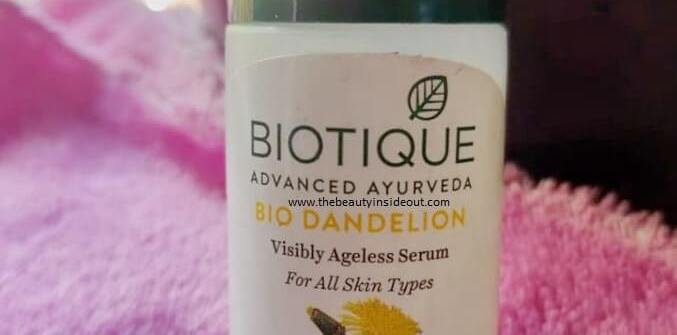 Biotique Ageless Serum Review
