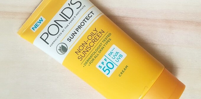 Ponds Non Oily Sunscreen SPF 50 Review