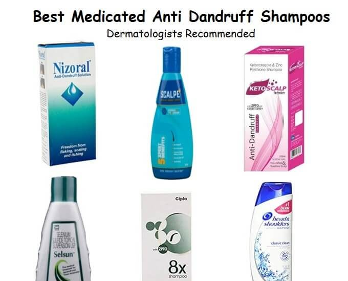 Best Medicated Anti Dandruff Shampoos Dermatologists Recommended