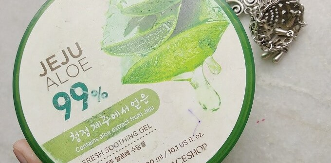 The Face Shop Jeju Aloe Fresh Soothing Gel Review
