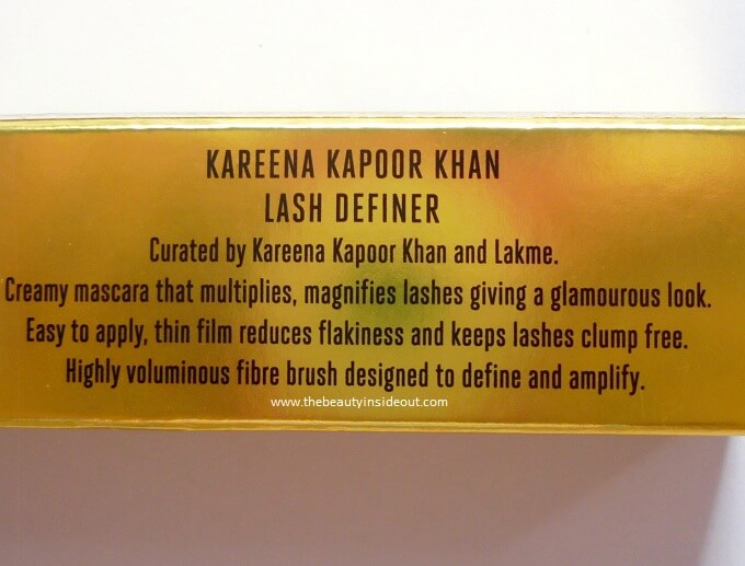 Lakme Absolute Kareena Kapoor Khan Lash Definer Claims