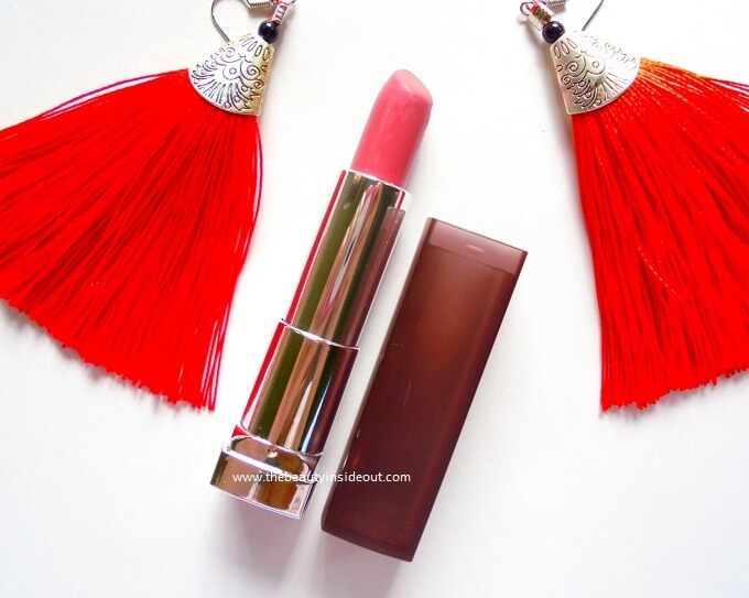 Maybelline Creamy Matte Lipstick Touch of Spice Review