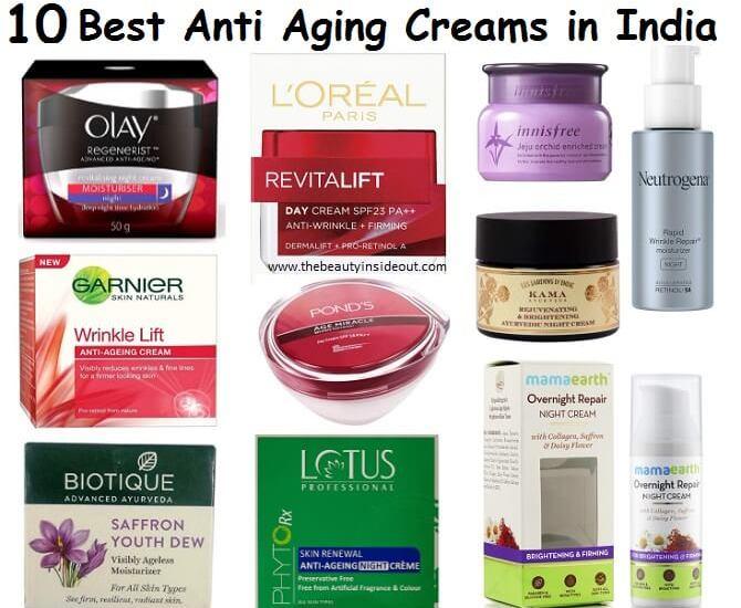 10 Best Anti Aging Creams in India