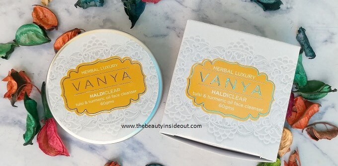 Vanya Herbal Haldi Clear Face Cleanser Review