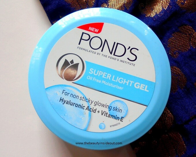 Ponds Super Light Gel Moisturizer Review