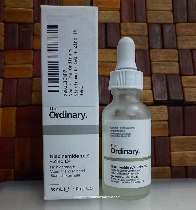 The Ordinary Niacinamide 10 + Zinc 1 Serum
