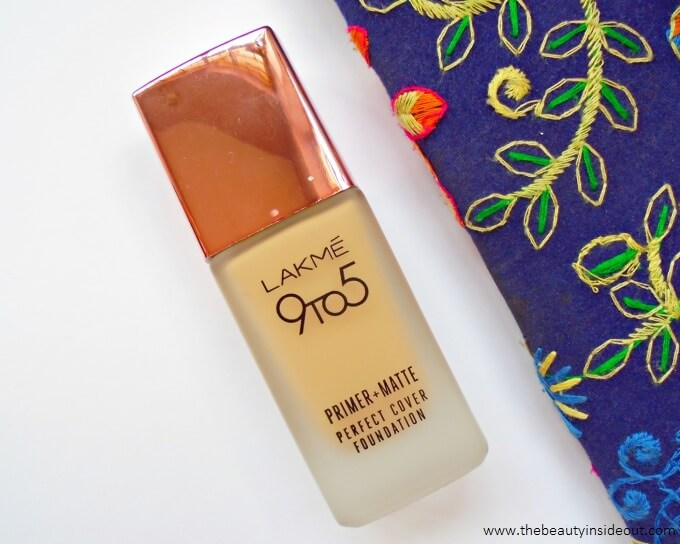 Lakme 9 to 5 Primer + Matte Perfect Cover Foundation Review