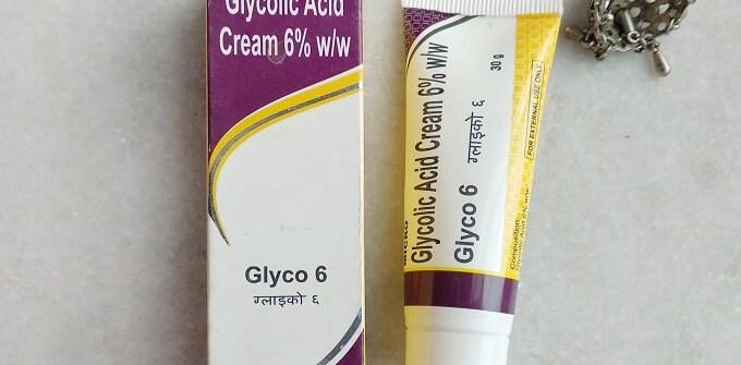 Glyco 6 Glycolic Acid Cream