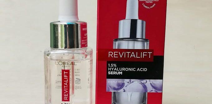 L'Oreal Paris Revitalift Hyaluronic Acid Serum Review