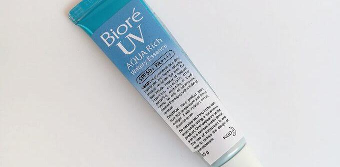 Biore UV Aqua Rich Watery Essence 2021