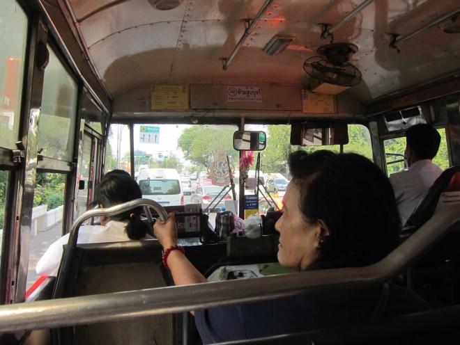 Bus Bangkok blog voyage asie du sud-est thailande