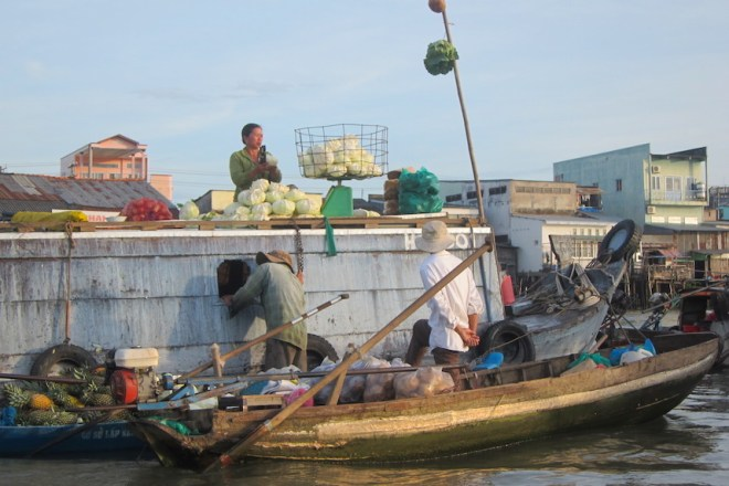 Floating markets, Can Tho
