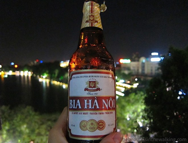 Ha Noi beer