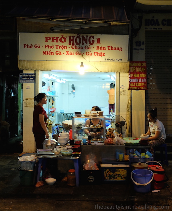 Restaurant on Hàng Hòm, Hanoi
