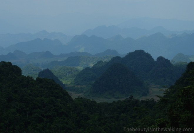 Mountains in the Ha Giang Geopark