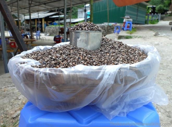 Céréales galettes hmongs