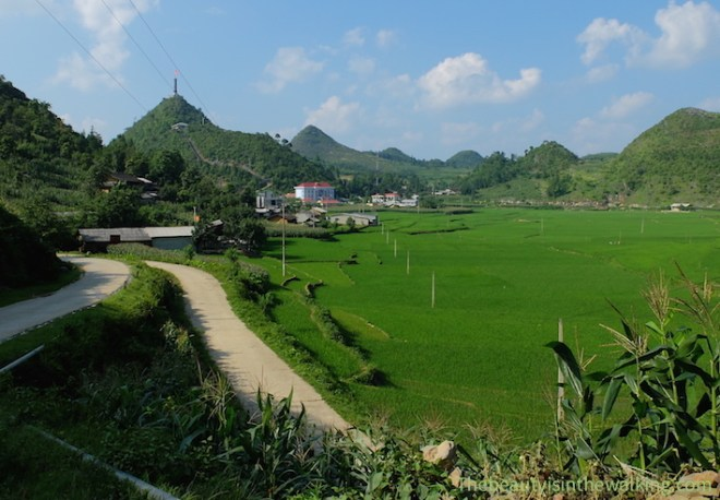 Lung Cu, the northernmost point of Vietnam