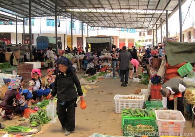 Marché de Shen Cun