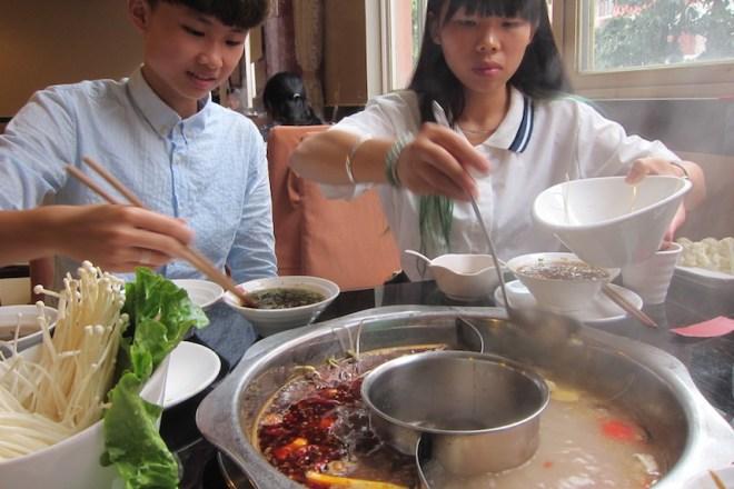 Fondue chinoise - Chinese hot pot